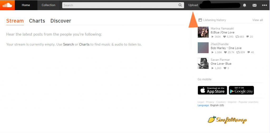 SoundCloud Dashboard