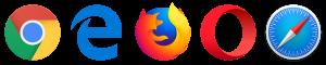 Compatible Browser Logos